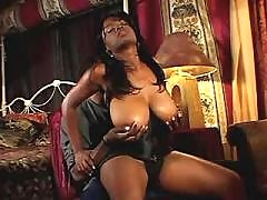 Pretty ebony fucking
