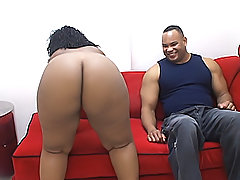 Fat brown chick gets fucked hard